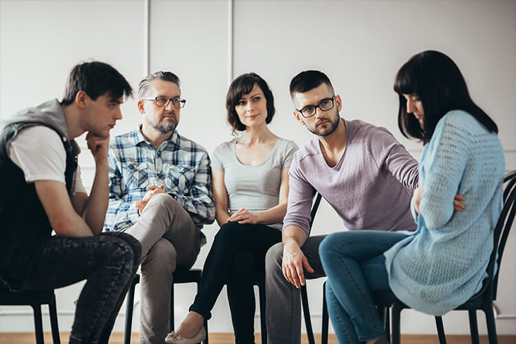 Group of people at Cognitive Behavioral Therapy