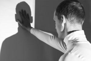 Psychopath Sociopath Man with Shadow